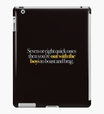 Young Frankenstein - Seven or eight quick ones,,, iPad Case/Skin