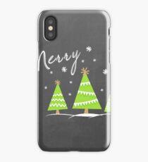 Merry Trees iPhone Case