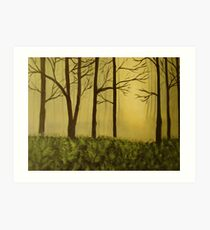 The Woods Art Print