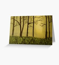 The Woods Greeting Card