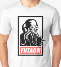 Cthulhu Fhtagn Slim Fit T-Shirt