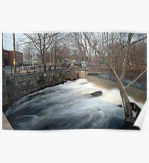 Faulkner Mills Waterfall III Poster