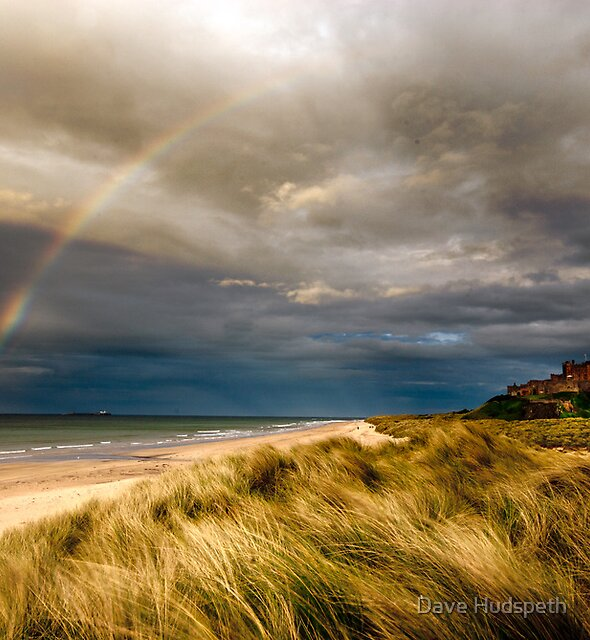 Bambrough Rainbow by Dave Hudspeth