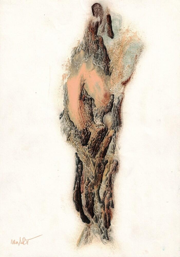 OHNE TITEL 12/05/1996 | Classical Art Mixed Media / Klassiche Kunst diverse Techniken von nenART-Official