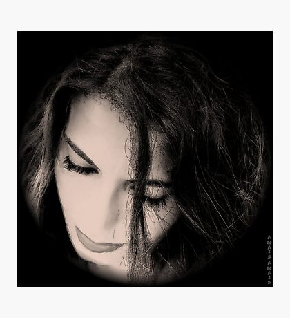 BLACK @ WHITE ...PERSPECTIVE Photographic Print