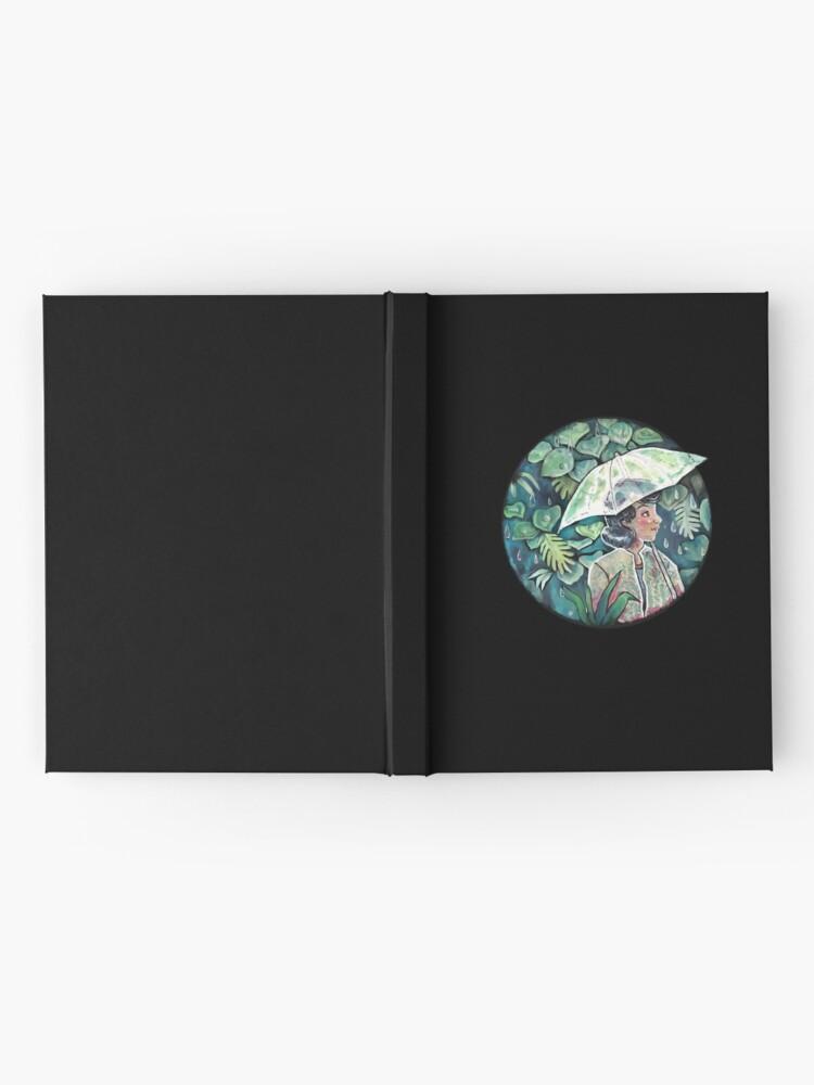 Alternate view of Umbrella girl Hardcover Journal
