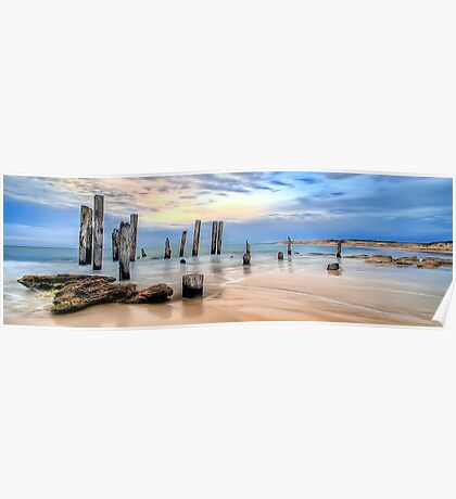 Moods Of Port Wilunga Panorama Poster