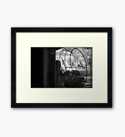 Caffeinated Rendezvous Framed Print