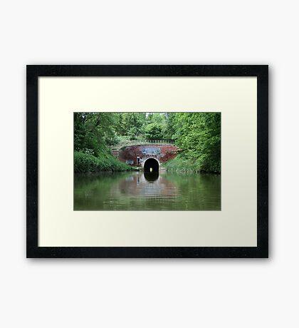 Bruce Tunnel Framed Print