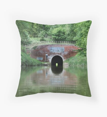 Bruce Tunnel Throw Pillow