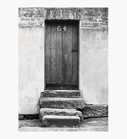 Steps to a Door Photographic Print