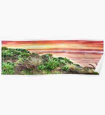 Queensland Sunrise Panorama Poster
