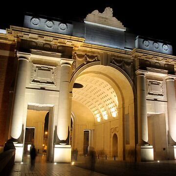 Modern Menin Gate at Midnight by BecsPerspective