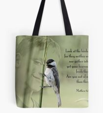 Are you not of much more value? Tote Bag