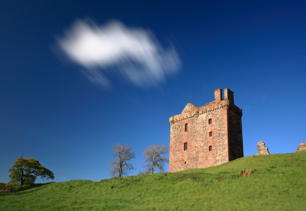 Balvaird Castle by Grant Glendinning