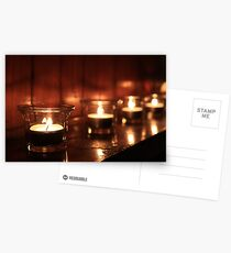 Candles Postcards