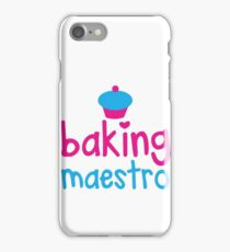 Baking Maestro iPhone Case/Skin