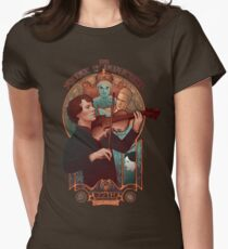 The Science of Deduction Women's Fitted T-Shirt