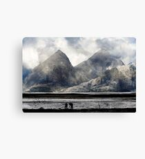 The Second 19th Century Tour of the Highlands. Canvas Print