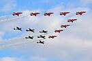 75 Years Tribute -  Battle of Britain Flypast Duxford by Colin  Williams Photography