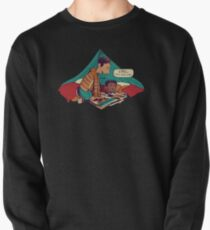 Troy and Abed's Dope Adventures Pullover Sweatshirt