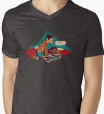 Troy and Abed's Dope Adventures Men's V-Neck T-Shirt