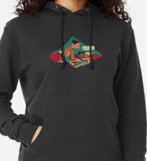 Troy and Abed's Dope Adventures Lightweight Hoodie