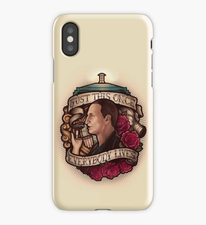 Just This Once iPhone Case