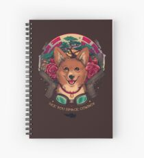 See You Space Cowboy Spiral Notebook