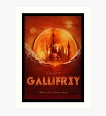 Travel To...  Gallifrey! Art Print