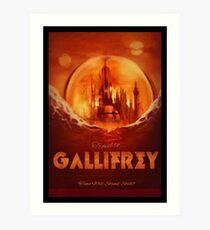 Travel To...  Gallifrey! Art Print