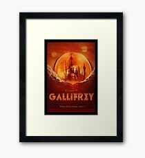Travel To...  Gallifrey! Framed Print
