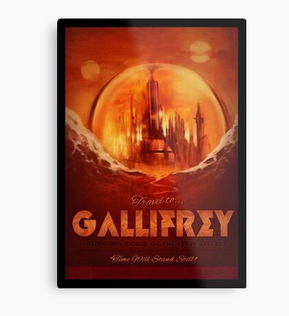 Travel To...  Gallifrey! Metal Print