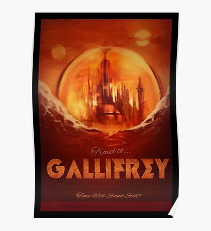 Travel To...  Gallifrey! Poster