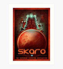 Travel To... Skaro! Art Print