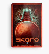 Travel To... Skaro! Metal Print