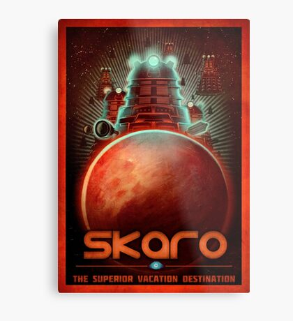 Travel To... Skaro! Metal Print