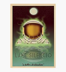Travel To...  Lake Silencio Photographic Print