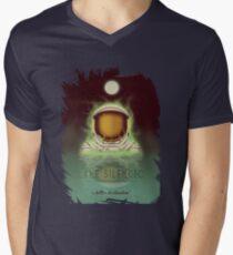 Travel To...  Lake Silencio Men's V-Neck T-Shirt