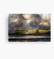 The Third 19th Century Tour of the Highlands. Canvas Print