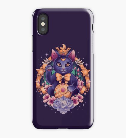 Maneki Luna iPhone Case