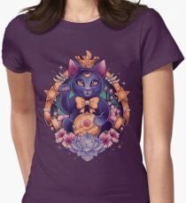 Maneki Luna Women's Fitted T-Shirt