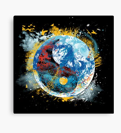flux planet Canvas Print