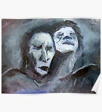 oaths and eternities~oil & palette knife Poster