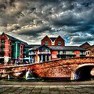 Nottingham Canal England 2011 HDR by Richard Jackson
