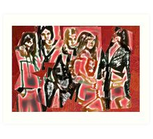 Cherry Bomb (The Runaways) Art Print