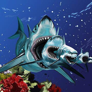 Sharkioska by ciaca