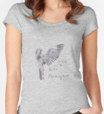 To Kill a Mockingbird - Transparent Women's Fitted Scoop T-Shirt
