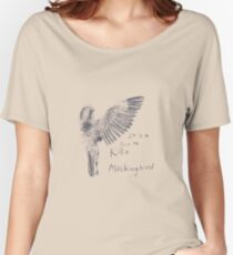 To Kill a Mockingbird - Transparent Women's Relaxed Fit T-Shirt