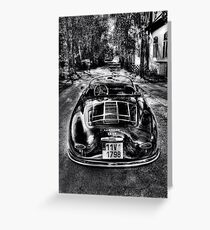 Porsche Speedster 1955 Greeting Card